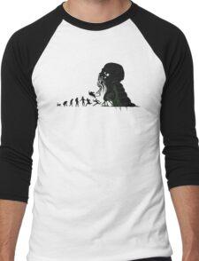 Lovecraft Darvinian Men's Baseball ¾ T-Shirt