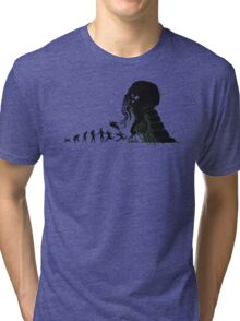 Lovecraft Darvinian Tri-blend T-Shirt