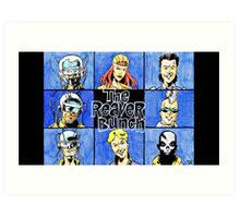 Print of the Week - The Reaver Bunch Art Print