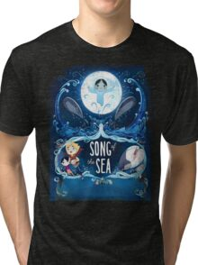 SONG OF THE SEA MOVIE 2 Tri-blend T-Shirt