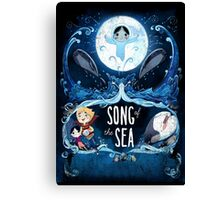 SONG OF THE SEA MOVIE 2 Canvas Print