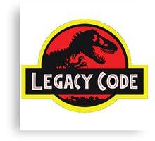 Legacy Code Canvas Print