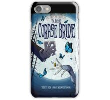 CORPSE BRIDE POSTER iPhone Case/Skin