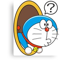 Doraemon Magic Circle Canvas Print
