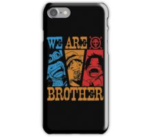 We are Brothers iPhone Case/Skin
