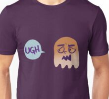 """""""Ugh"""" Says the Irritated Ghost Unisex T-Shirt"""