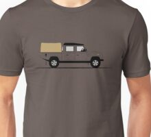 A Graphical Interpretation of the Defender 130 Double Cab High Capacity Pick Up Unisex T-Shirt