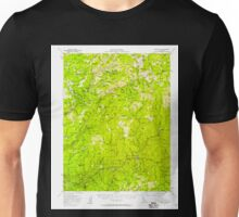 USGS TOPO Map California CA Downieville 297340 1951 62500 geo Unisex T-Shirt