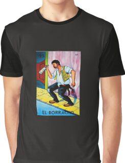 Loteria: El Borracho Graphic T-Shirt