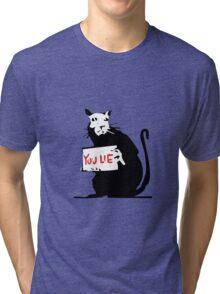 rat love Tri-blend T-Shirt