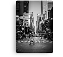 Crosswalk Canvas Print