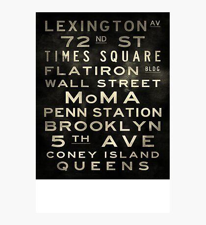 D A Custom Sized (16x20) Lexington V2 Vintage Photographic Print