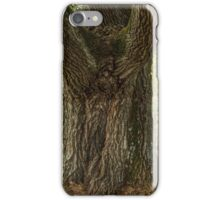 Thick oak trunk iPhone Case/Skin