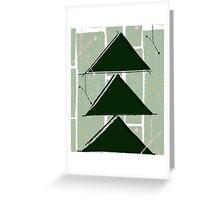 A Vintage Christmas - Green Greeting Card