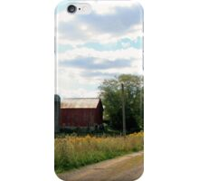 Country Road Farm - Western PA iPhone Case/Skin