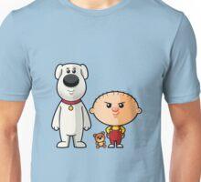Brian and Stewie Unisex T-Shirt