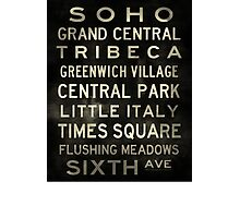 D A Custom Sized (16x20) SOHO V2 Vintage Photographic Print