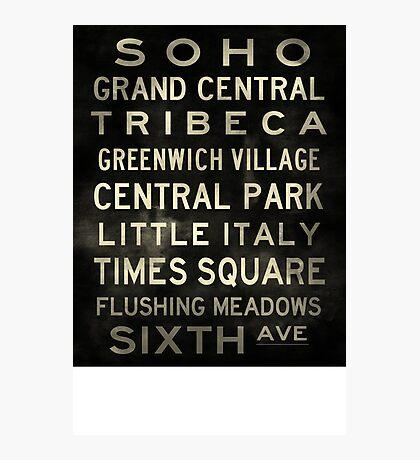 D A Custom Sized (16x20) SOHO V2 Vintage Photographic Print