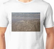 Painted by Sun and Waves - a Natural Abstract on the Beach Unisex T-Shirt
