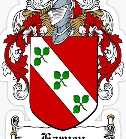 Harvey (Donegal) Sticker