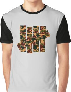 Undefeated x Bape Graphic T-Shirt