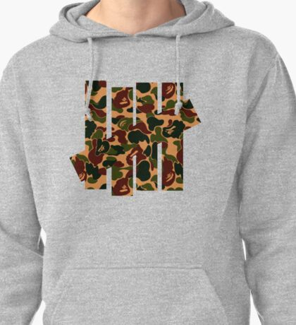 Undefeated x Bape Pullover Hoodie