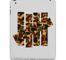 Undefeated x Bape iPad Case/Skin