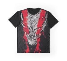 Hollow Mask Graphic T-Shirt