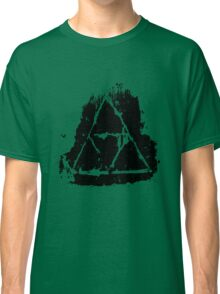 Painted Grunge Triforce Classic T-Shirt