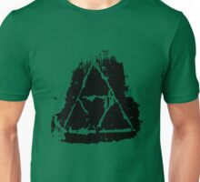 Painted Grunge Triforce Unisex T-Shirt