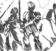 °FINAL FANTASY° Final Fantasy Tactics B&W Logo Sticker