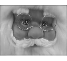 HERE COMES SANTACLAUS Photographic Print