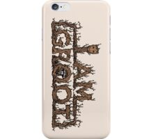 The Raccoon Protector iPhone Case/Skin