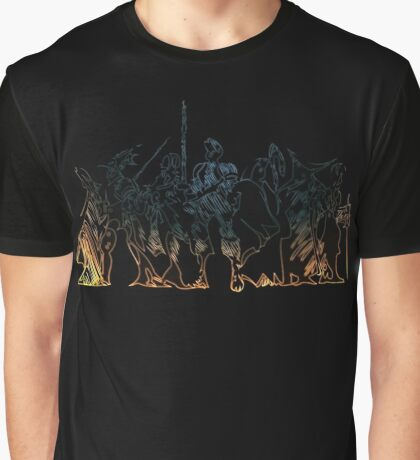 °FINAL FANTASY° Final Fantasy Tactics Neon Logo Graphic T-Shirt