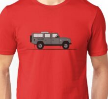 A Graphical Interpretation of the Defender 110 Station Wagon Africa Edition Unisex T-Shirt