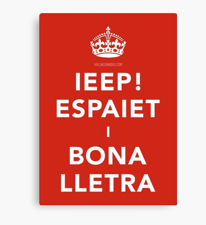 KEEP CALM, CHE! Canvas Print