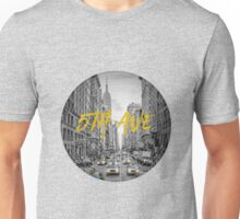 Graphic Art NYC 5th Avenue Yellow Cabs Unisex T-Shirt