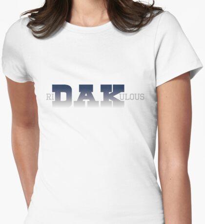 Ri-DAK-ulous (Gradient) Womens Fitted T-Shirt