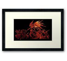 °FINAL FANTASY° Final Fantasy Tactics TWOTL Space Logo Framed Print