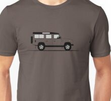 A Graphical Interpretation of the Defender 110 Station Wagon Unisex T-Shirt