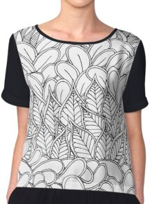 Leaves framed by leaves Chiffon Top