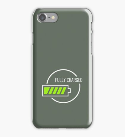 Fully Charged iPhone Case/Skin