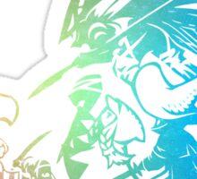 °FINAL FANTASY° Final Fantasy Tactis TWOTL Rainbow Logo Sticker