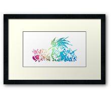 °FINAL FANTASY° Final Fantasy Tactis TWOTL Rainbow Logo Framed Print
