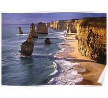 12 Apostles at Late Afternoon Poster