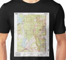 USGS TOPO Map California CA Boca 100569 2000 24000 geo Unisex T-Shirt