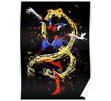 Abtract Sailor Moon Poster