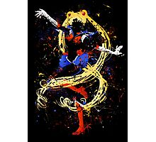 Abtract Sailor Moon Photographic Print