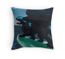 Defender of Berk - Alpha Toothless Throw Pillow