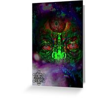 Planetary Overseer Greeting Card